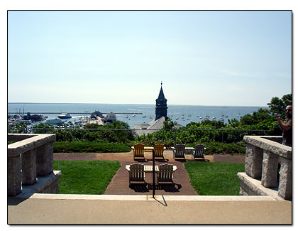 View of the Cape Cod Bay