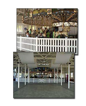 Looff carousel at Lighthouse Point Park
